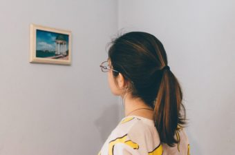 Woman Thinking, Picture Frame, Frame, Woman, Female