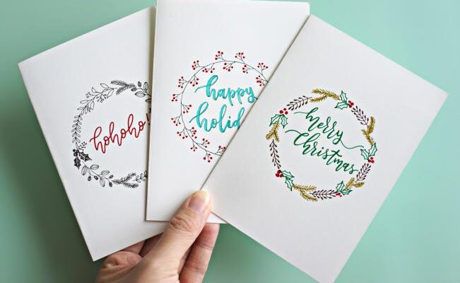 Showcase Your Personality and Flair with a Custom-Made Christmas Cards