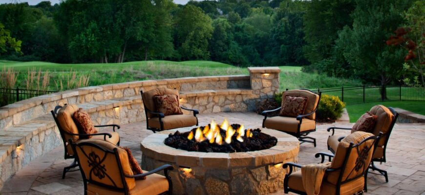 Transform your garden with an outdoor fire feature