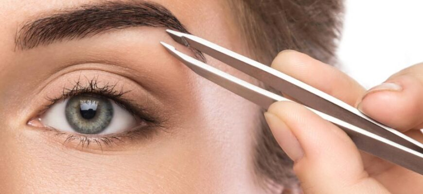 The five best types of eyebrow tweezers